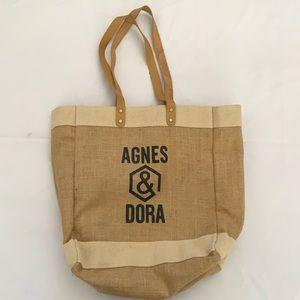 Canvas/Burlap Tote Bag
